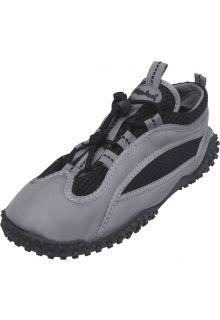 Playshoes---UV-Badeschuhe---Grau