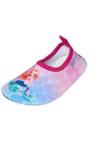 Playshoes---Uv-Barfuß-Schuh-für-Mädchen---Meerjungfrau---Rosa/Meerjungfrau