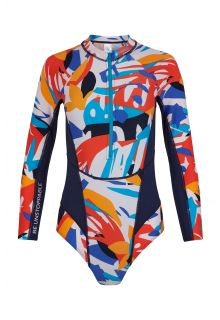O'Neill---UV-Surf-Badeanzug-für-Frauen---Langärmlig---Suru---AOP