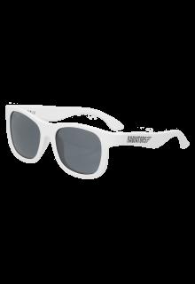 Babiators---UV-Sonnenbrille-für-Kinder---Navigator---Weiss