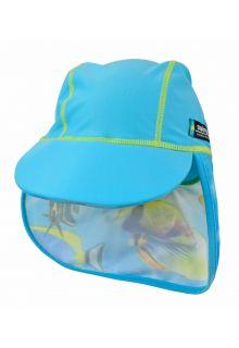Swimpy---UV-Schwimm-Mütze--Fisch-Turkis