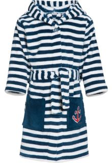 Playshoes---Bademantel-für-Kinder---Maritim---Marineblau/weiß