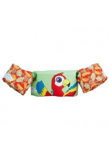 Puddle Jumpers - Adjustable swim bands Parrot - Mint/Multi - front