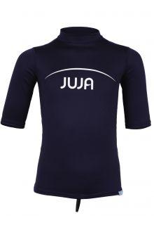 JuJa---UV-Badeshirt-für-Kinder---Kurzärmlig---Marineblau