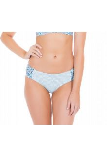 Cabana-Life---UV-Schutz-Bikinihose-für-Damen---Blau/Weiss