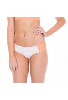 Cabana-Life---UV-Schutz-Bikinihose-für-Damen---Weiss/Orange