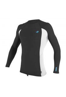 O'Neill---UV-Shirt-für-Herren---langärmlig---Premium-Rash---Ravengrau
