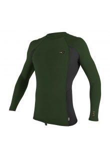 O'Neill---UV-Shirt-für-Herren---langärmlig---Premium-Rash---Olivgrün