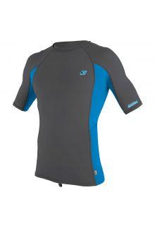 O'Neill---UV-Shirt-für-Herren---kurzärmlig---Premium-Rash---Hellgrau