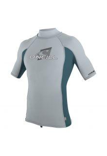 O'Neill---UV-Badeshirt-mit-Kragen-für-Kinder---grau-/-blaugrün