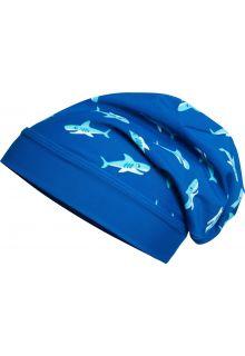 Playshoes---UV-Mütze-für-Jungen---Haifisch---Blau