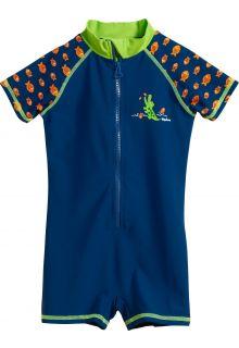 Playshoes---UV-Schwimmanzug-für-Jungen---Krokodil---Blau