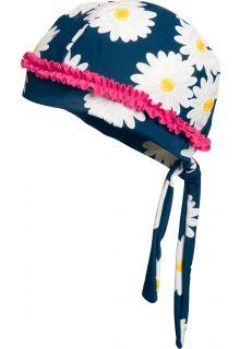 Playshoes---UV-Schwimmbandana-für-Mädchen---Margerite---Blau-/-Pink-/-Weiß