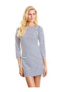 Cabana-Life---UPF50+-Swim-UV-Kleid--Navy-Stripe--Large