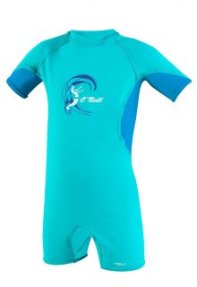 O'Neill---UV-Schwimmanzug-für-Mädchen---O'Zone-Spring---Helles-Aqua