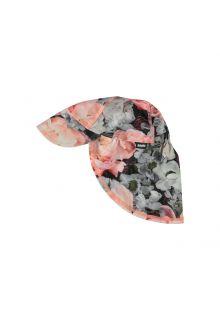 Molo---UV-Sonnenkappe-mit-Nackenschutz-für-Kinder---Nando---Blossom-print