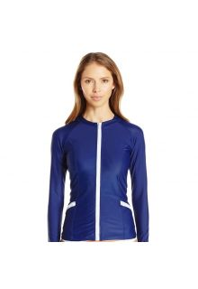 Cabana-Life---UPF50+-Essentials---Blau-Zip-Up-Rashguard