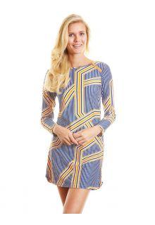Cabana-Life---UPF50+-Orange-Drive---Zip-Schulter-UV-Kleid
