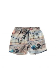 Molo---UV-Badeshorts-für-Kinder---Niko---Volleyball-Sunset