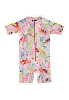 Molo---UV-Schwimmanzug-kurzärmlig-für-Mädchen---Neka---Cockatoos