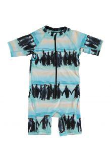 Molo---UV-Schwimmanzug-kurzärmlig-für-Jungen---Neka---Penguin