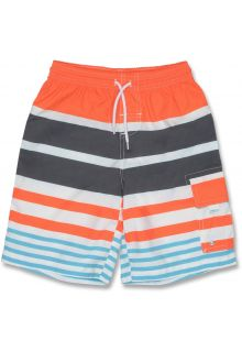 Snapper-Rock---Surfshorts-orange-Streifen