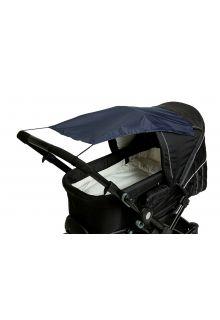 Altabebe---Universeller-UV-Sonnenschutz-für-Kinderwagen---Marineblau