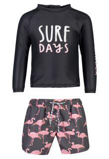 Snapper-Rock---UV-Badeset-für-Babys---Surf-Days---Schwarz/Rosa