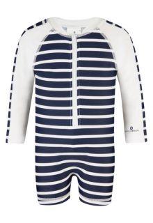 Snapper-Rock---UV-Schwimmanzug-mit-langem-Arm--Dunkelblau/-Weiß-gestreift