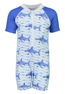 Snapper-Rock---UV-Badeset-für-Babys---School-of-Sharks---Blau