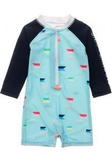 Snapper-Rock---UV-Badeanzug-für-Babies---Langarm---Maritime-Fliers---Hellblau