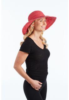 Rigon---UV-Schlapphut-für-Damen---Rot