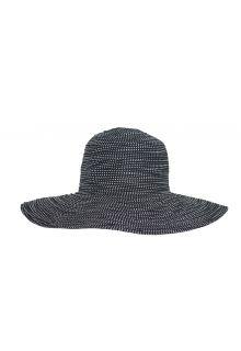 Rigon---UV-Schlapphut-für-Damen---Schwarz-/-Pünktchen