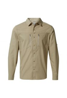 Craghoppers---UV-Hemd-für-Herren---Langarmshirt---Kiwi-Boulder---Sandfarben