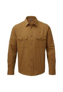 Craghoppers---UV-Hemd-für-Herren---Langarmshirt---Kiwi---Braun