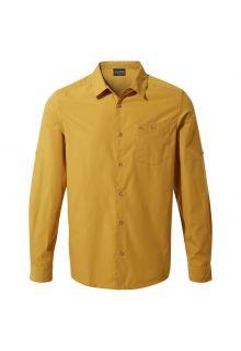 Craghoppers---UV-Hemd-für-Herren---Langarmshirt---Kiwi-Ridge---Dunkelgelb