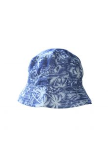 Emthunzini-Hats---UV-Bucket-Hut-für-Babies---Sandy-Denim---Blau