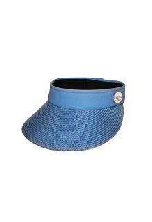 Emthunzini-Hats---Visor-for-women---Evoke-Morgan-Peak---Blue