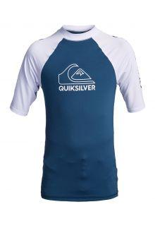 Quicksilver---UV-Badeshirt-für-Teenager---On-Tour---Graublau