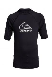 Quicksilver---UV-Badeshirt-für-Teenager---On-Tour---Schwarz
