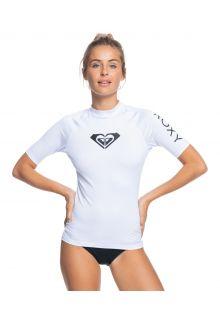 Roxy---UV-Badeshirt-für-Damen---Whole-Hearted---Weiß
