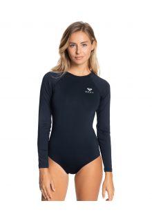 Roxy---UV-Badeanzug-für-Damen---Langärmlig---Essentials---Anthrazit