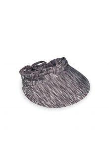 Emthunzini-Hats---Schirmmütze-für-Damen---Calypso-Peak---Schwarz/Weiß