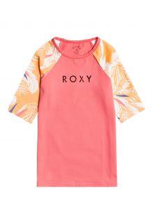 Roxy---UV-Badeshirt-für-Teenager-Mädchen---Buff-Picolo's---Lachsfarben