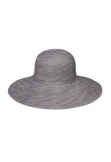 Emthunzini-Hats---UV-Floppy-Sonnenhut-für-Damen---Scrunchie---Grau