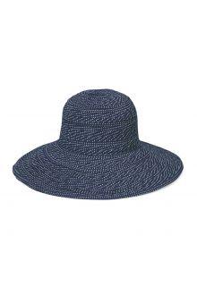 Emthunzini-Hats---UV-Floppy-Sonnenhut-für-Damen---Scrunchie---Navy