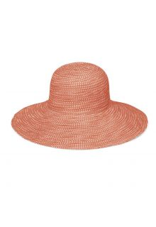 Emthunzini-Hats---UV-Floppy-Sonnenhut-für-Damen---Scrunchie---Orange
