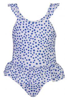 Snapper-Rock---Badeanzug-mit-Rock-für-Babys---Cheetah-Spot---Weiß/Blau