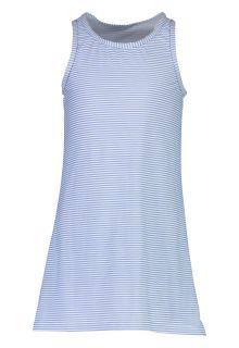 Snapper-Rock---UV-Badekleid-für-Mädchen---Striped---Blau/Weiß