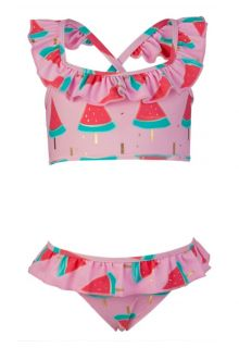 Snapper-Rock---Sport-Ruffle-Bikini---Wassermelone